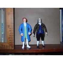 Benjamín Franklin,casanova,lote De Figuras