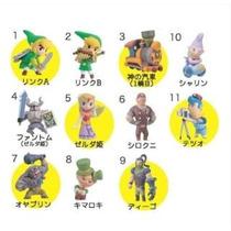 Set De 11 Figuras Japonesas De Zelda Spirit Tracks