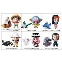 Caja Con 12 Llaveros Figuras Japonesas One Piece - Nuevos