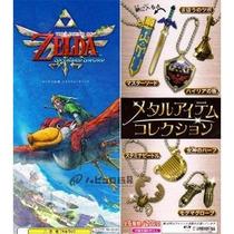 Zelda Skyward Sword Metal Item Collection Llaveros Japoneses