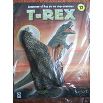 T-rex, Fascículos, Colección Salvat, Dinosaurios,para Armar
