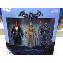 Figuras De Batman Arkham Origins Deathstroke Deadshot Ect.