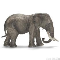 Elefante Africano Schleich, Replica Original Pintado A Mano
