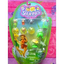 Tinker Bell Y Hadas Set De Serie 2 Figuras Squinkies Miniat