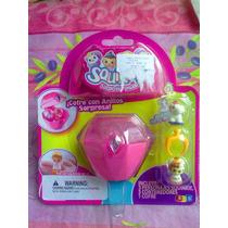 Set De Cofre De Anillos Con Figuras Squinkies Miniatura