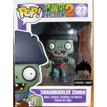 Funko Pop: Plants Vs Zombies: Swashbuckler #27 Caja Dañada