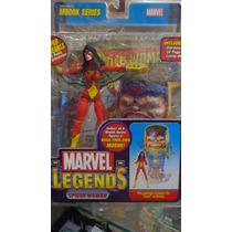 Spider-woman Marvel Legends Toy Biz (serie Modok)