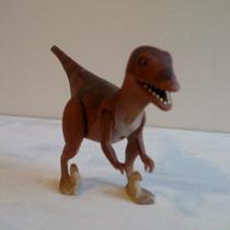 Dino Riders Dinosaurio Deinonychus Con Figura Evil Rulon