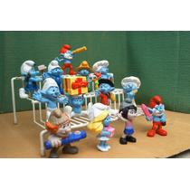 Los Pitufos Serie 1 & 2 Lote 13 Figura Peyo P Comp Ve Desc