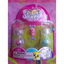 Perritos Set Squinkies Figuras Miniatura