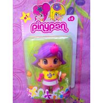 Pinypon Munequita Pelo Morado Modelo 18