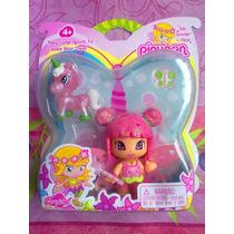 Pinypon Set De Figura De Hada Y Unicornio Rosa