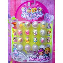 Squinkies Figuras Miniatura Serie 22 Set De Bodas