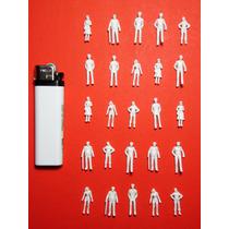 25 Figuras Humanas Escala 1:75 Maquetas Arquitectura Tren