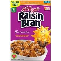 Raisin Bran Cereal 23,5 Oz Caja De Kellogg (paquete De 4)