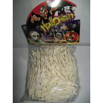 Gcg Lote Muerte Calavera Esqueleto 7 Cm 100 Pzas Halloween