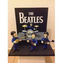 The Beatles Set Clásico Figura De Colección Rock