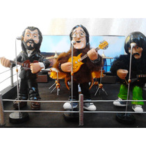 The Beatles Figuras Del Concierto En La Azotea