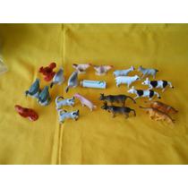 Lote Animales De Granja, Bien Echas,figuras,maqueta.