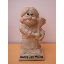 Figura Retro Vintage Best Mother W & R Berries Cos 1970
