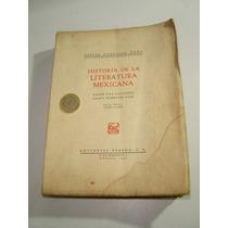 Libro Antiguo Historia De La Literatura Mexicana Carlos Peña