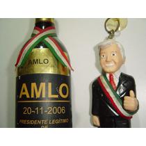 Figura De Amlo Y Souvenir 2006