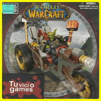 Goblin Trike-triciclo Goblin - 65 Pcs - World Of Warcraft