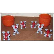 6 Figuras Hormigas Acróbatas Estuche Gigante Kinder Sorpresa