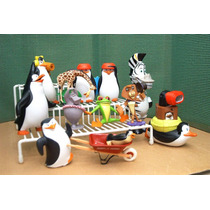 Madagascar & Pinguinos Lote 12 Figura P Comp Ve Descripcion
