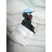 Gcg Memin Negrito Cagon Azul Con Su Pasta Retro