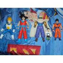 Lote De 4 Figuras Dragon Ball Z Goku Vegeta Gohan Piccolo