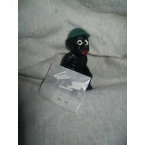 Gcg Memin Negrito Cagon Verde Con Su Pasta Retro