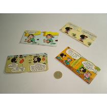 Vintage Cajitas Para Dulces Cartón De Mafalda 4 Piezas Set 2