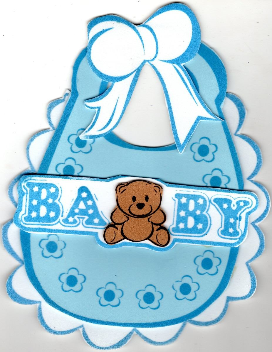 Figuras de foami de baby shower para varon imagui for Mesa baby shower nino