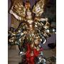 Arcangel San Miguel De Madera Policromado