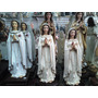 Virgen Rosa Mistica - Devocion Imagen Alabastro Porcelana