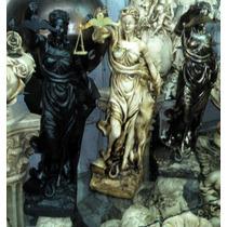 Dama De La Justicia - Figura Escultura Ley Diosa, Bronce