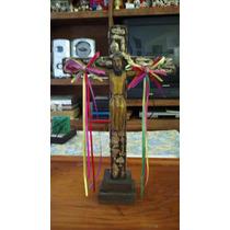 Excelente Cristo Bizantino De Madera