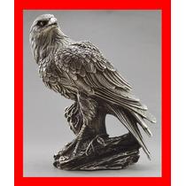 Estatua De Plata Tibetana Aguila (1930) Feng Shui