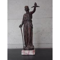 Escultura Bronce Justicia