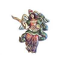 San Miguel Arcángel De Madera Para Colgar