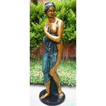 Lrc Diosa Venus, Mujer Desnuda Muy Bella! De Bronce