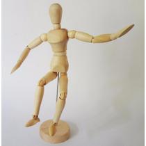 Maniquí. Arte. Muñeco Modelo. Articulado 20cms