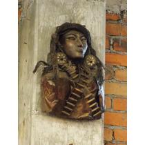 Increible Escultura Revolucionaria Estilo Antiguo.