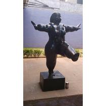Fernando Botero Escultura En Bronce Bailarina 1988 4/6