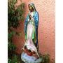 Virgen De Guadalupe, Preciosa!!! Hecha De Bronce Op4