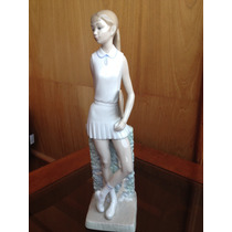 Figura Porcelana Lladro Tenista