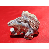 Iguana En Geoda De Cuarzo 1410