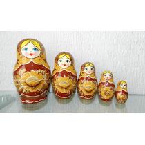 Matryoshka Original De Rusia Matrioshka Matroska Muñeca Rusa