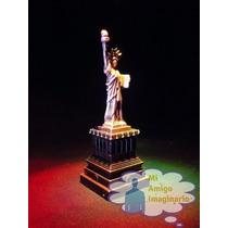 Estatua De La Libertad Nueva York Usa 16cm Metal